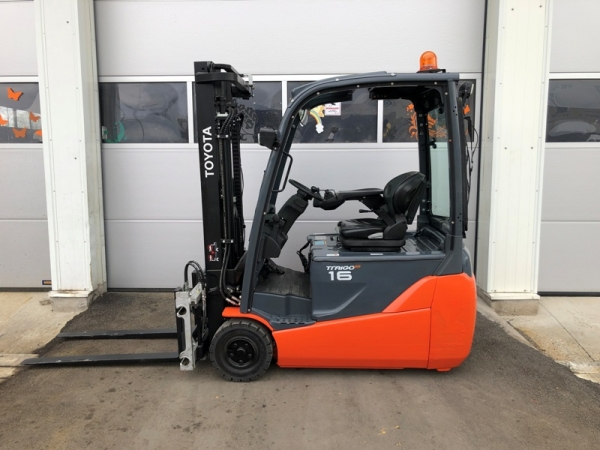 3-wheel electric truck TOYOTA 8FBET16